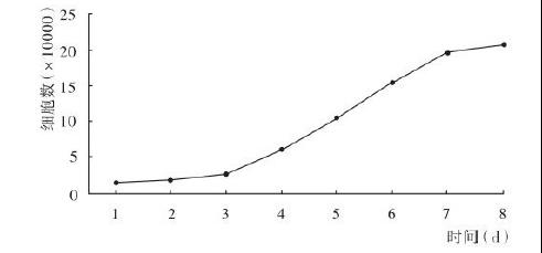 细胞生长曲线一